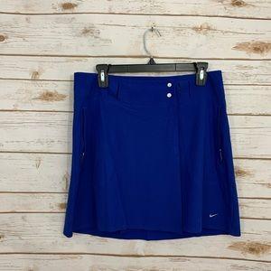 Nike Golf Blue Active Athletic Skirt